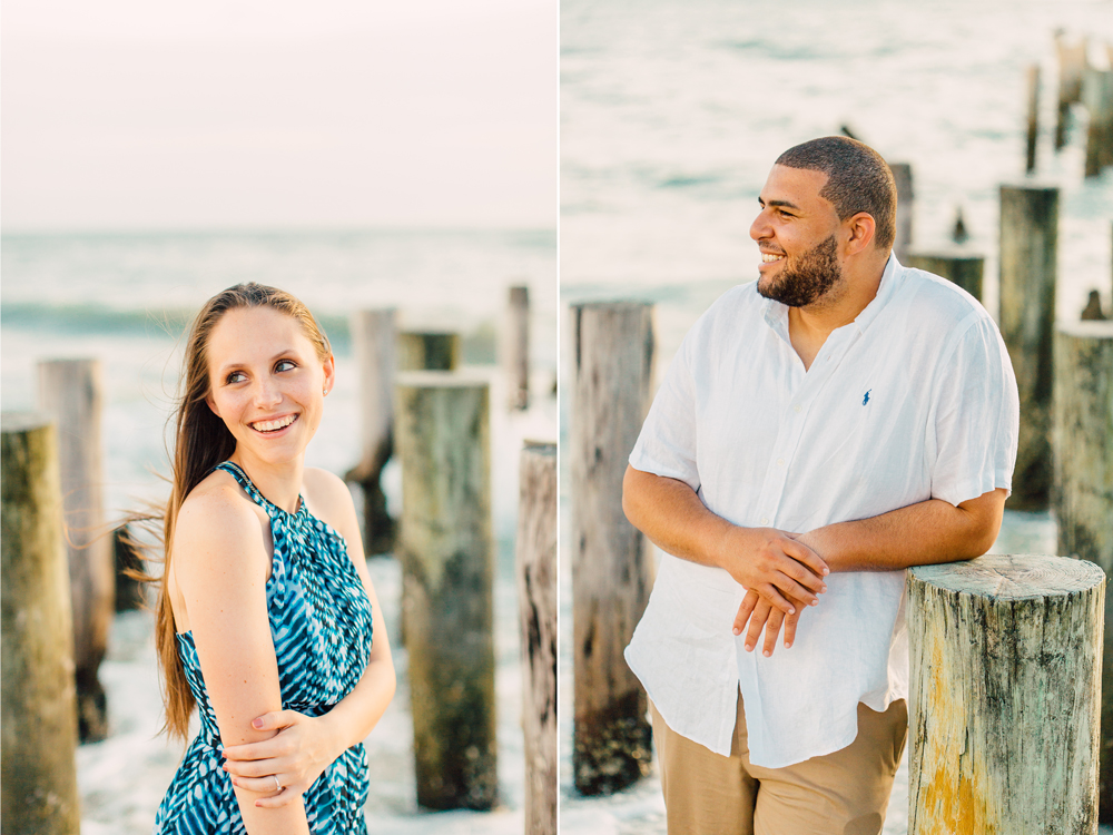 Florida Beach Engagement Photography