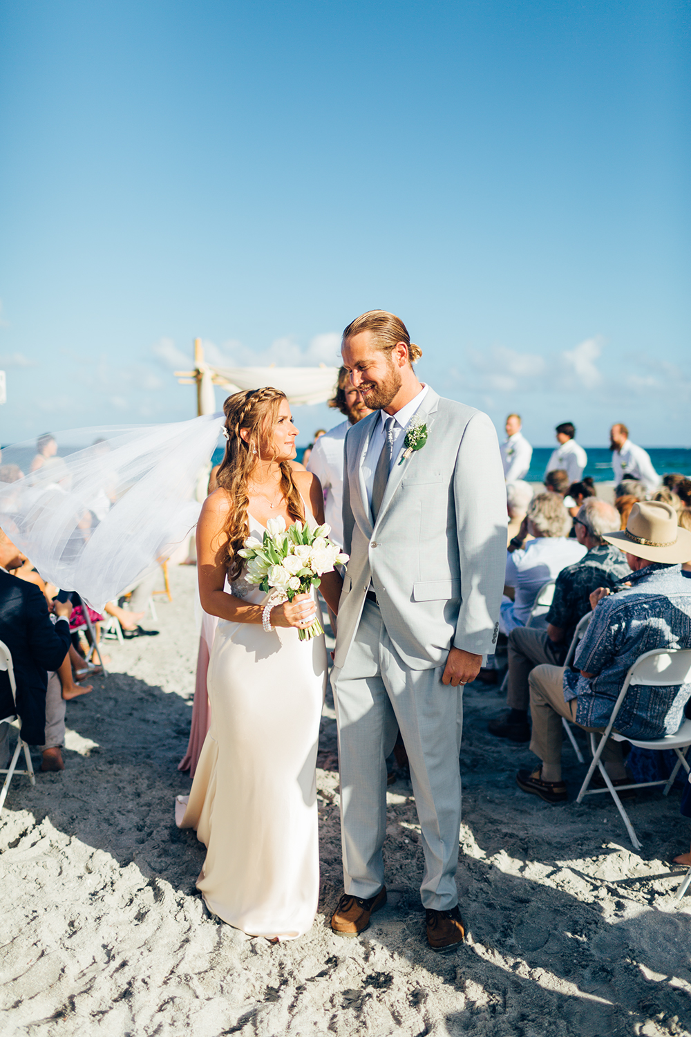 Wright By The Sea Wedding