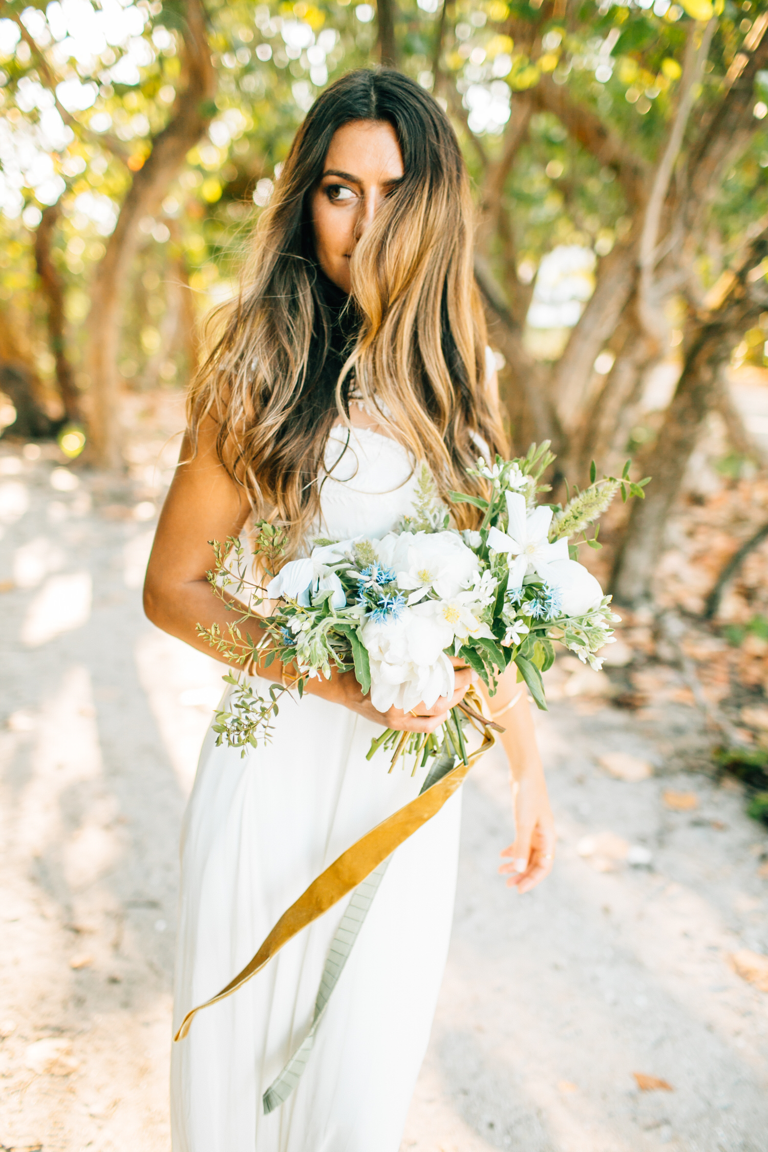 Boho Wedding Dress Florida : Bridal collaboration boho beach wedding inspiration