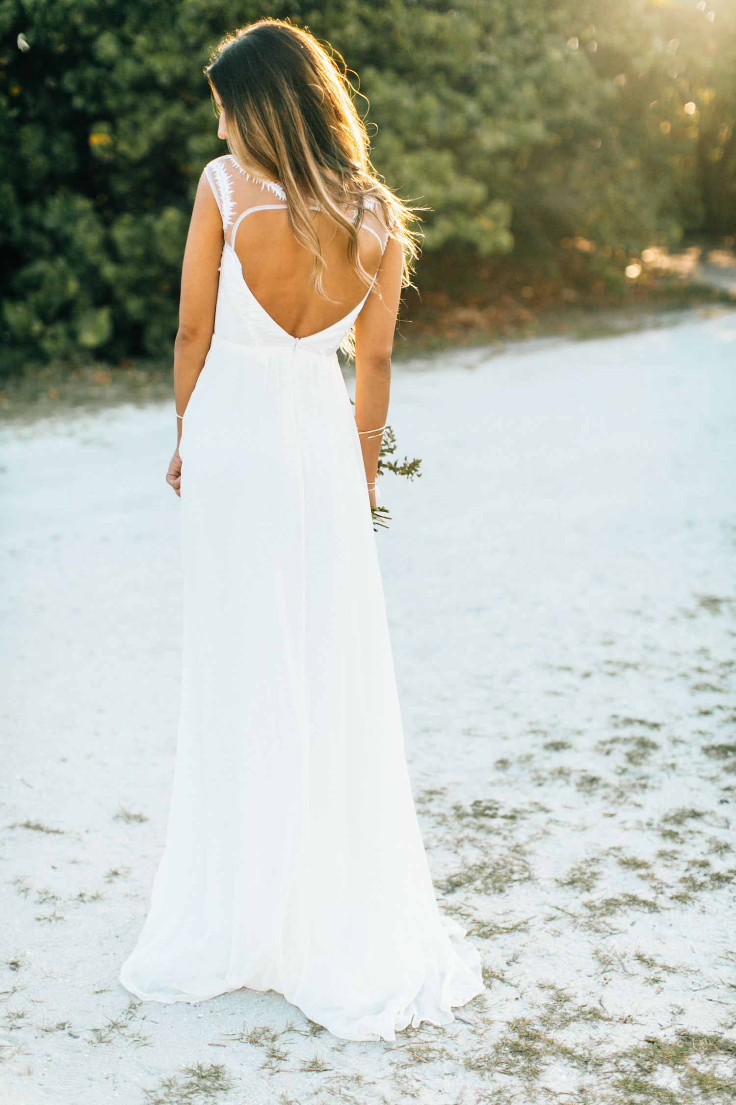 Bridal collaboration boho beach wedding inspiration for Wedding dresses in south florida