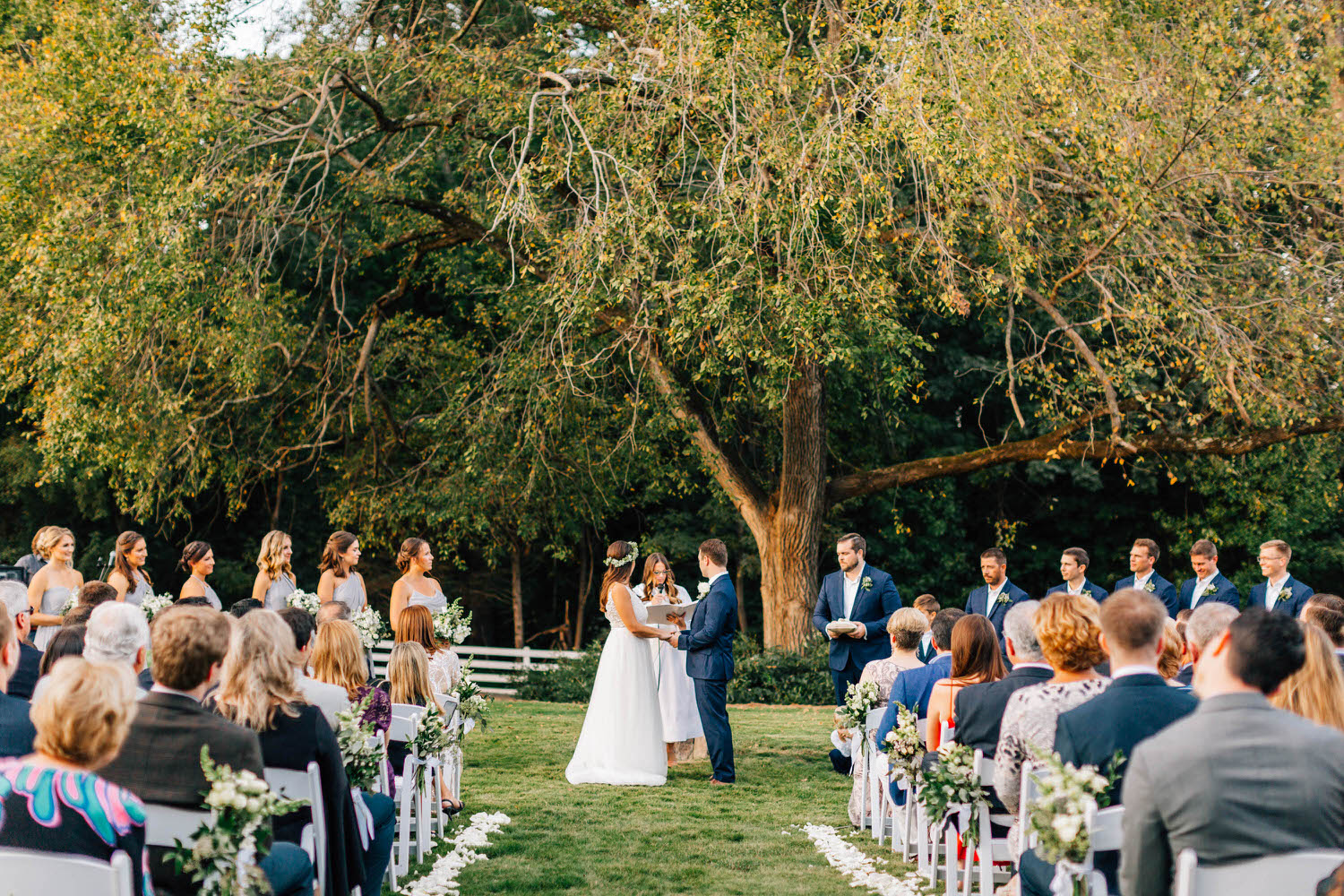 Vintage Wedding Dresses Raleigh Nc: Tracy And Frank's Historic Wakefield Barn Wedding